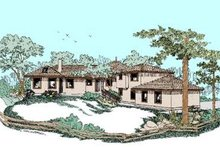 Traditional Exterior - Front Elevation Plan #60-372