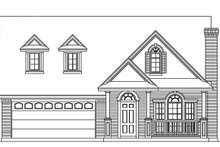Exterior - Front Elevation Plan #472-71