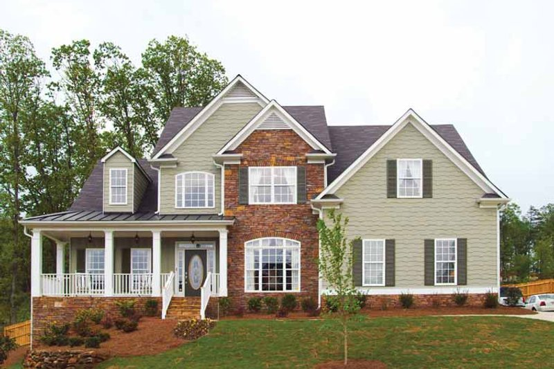 Country Exterior - Front Elevation Plan #927-157 - Houseplans.com