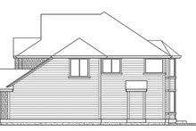 Craftsman Exterior - Other Elevation Plan #132-412