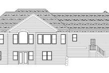 Craftsman Exterior - Rear Elevation Plan #51-356
