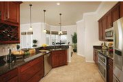 Mediterranean Style House Plan - 3 Beds 2.5 Baths 2287 Sq/Ft Plan #938-20 Interior - Kitchen