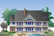 House Plan Design - Craftsman Exterior - Rear Elevation Plan #929-968