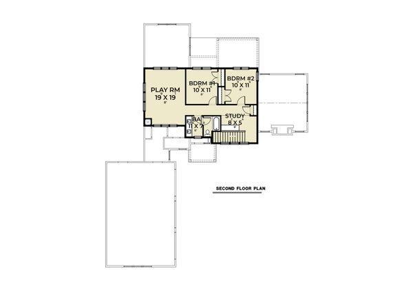 Dream House Plan - Craftsman Floor Plan - Upper Floor Plan #1070-131