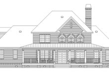 House Plan Design - Country Exterior - Rear Elevation Plan #929-886