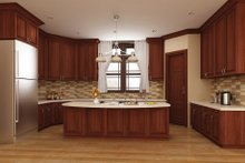 Home Plan - European Interior - Kitchen Plan #119-420