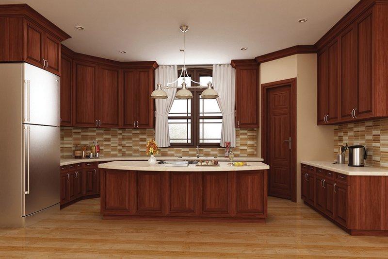 European Interior - Kitchen Plan #119-420 - Houseplans.com