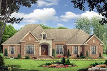 Home Plan - European Exterior - Front Elevation Plan #21-223