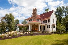 Home Plan - Country Exterior - Rear Elevation Plan #928-290