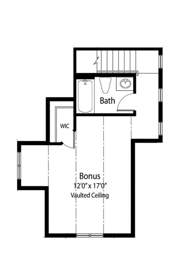 Mediterranean Floor Plan - Other Floor Plan Plan #938-78