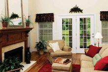 Ranch Interior - Family Room Plan #929-244