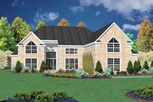Home Plan - European Exterior - Front Elevation Plan #36-220
