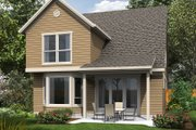 Traditional Style House Plan - 4 Beds 3 Baths 1815 Sq/Ft Plan #48-484