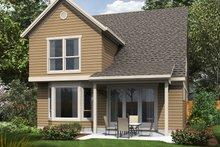 Traditional Exterior - Rear Elevation Plan #48-484
