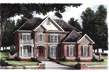 Architectural House Design - Colonial Exterior - Front Elevation Plan #927-222