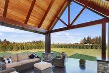 Craftsman Exterior - Outdoor Living Plan #1070-15