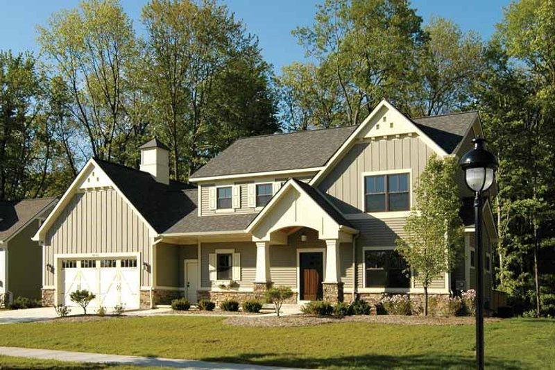 Country Exterior - Front Elevation Plan #928-96 - Houseplans.com