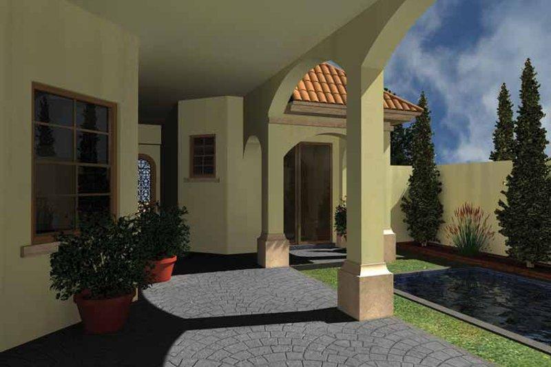 Mediterranean Exterior - Rear Elevation Plan #930-433 - Houseplans.com