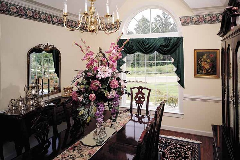 Ranch Interior - Dining Room Plan #929-176 - Houseplans.com