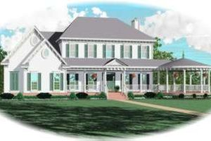 Traditional Exterior - Front Elevation Plan #81-1152