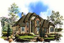 Home Plan - European Exterior - Front Elevation Plan #5-382