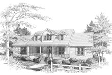 Traditional Exterior - Front Elevation Plan #10-202