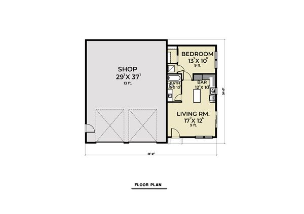 Farmhouse Floor Plan - Main Floor Plan #1070-120