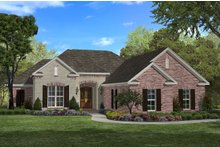 Dream House Plan - Traditional Exterior - Front Elevation Plan #430-60