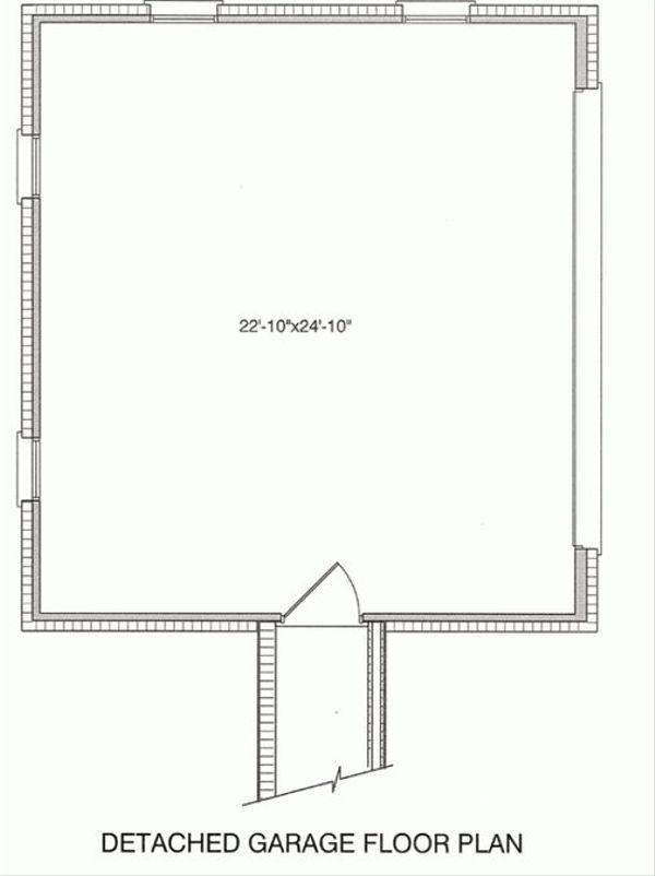 Farmhouse Floor Plan - Other Floor Plan Plan #37-227