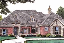 House Plan Design - Country Exterior - Front Elevation Plan #310-1231
