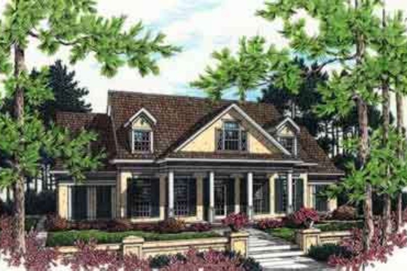 Mediterranean Exterior - Front Elevation Plan #45-241 - Houseplans.com