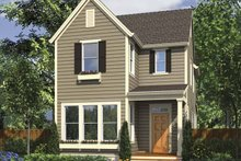 Dream House Plan - Country Exterior - Front Elevation Plan #48-867