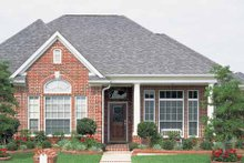 Architectural House Design - Country Exterior - Front Elevation Plan #968-20
