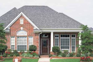 House Design - Country Exterior - Front Elevation Plan #968-20