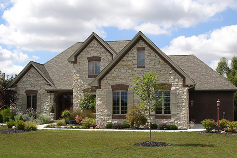 European Exterior - Front Elevation Plan #1064-2 - Houseplans.com