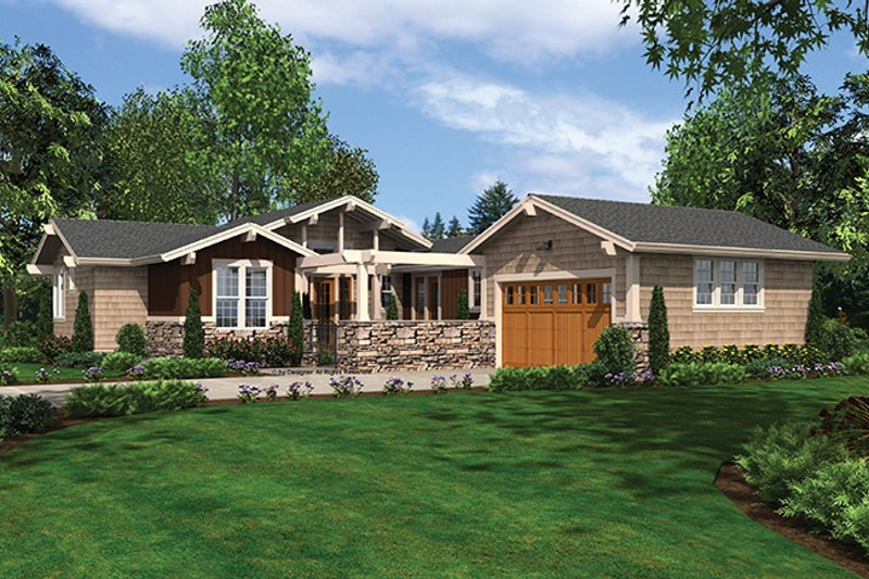 Traditional Exterior - Front Elevation Plan #48-861 - Houseplans.com