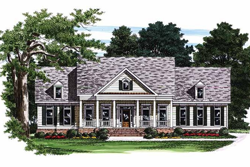 House Plan Design - Classical Exterior - Front Elevation Plan #927-252