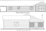 Traditional Style House Plan - 2 Beds 2 Baths 1584 Sq/Ft Plan #117-454