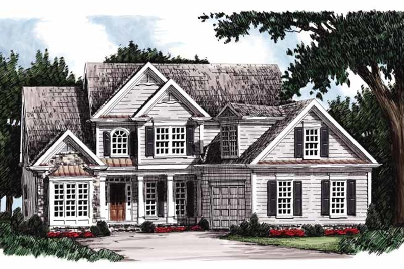 Country Exterior - Front Elevation Plan #927-258 - Houseplans.com