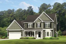 Home Plan - Traditional Exterior - Front Elevation Plan #1010-125