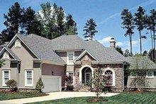 Home Plan - European Exterior - Front Elevation Plan #453-391
