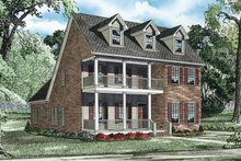 Home Plan - Traditional Exterior - Front Elevation Plan #17-3319
