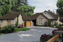 House Design - Traditional Exterior - Front Elevation Plan #48-859