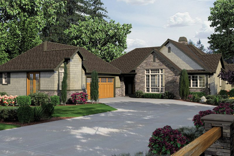 Traditional Exterior - Front Elevation Plan #48-859