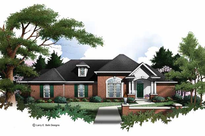 Traditional Exterior - Front Elevation Plan #952-146 - Houseplans.com