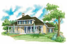 Country Exterior - Front Elevation Plan #930-223