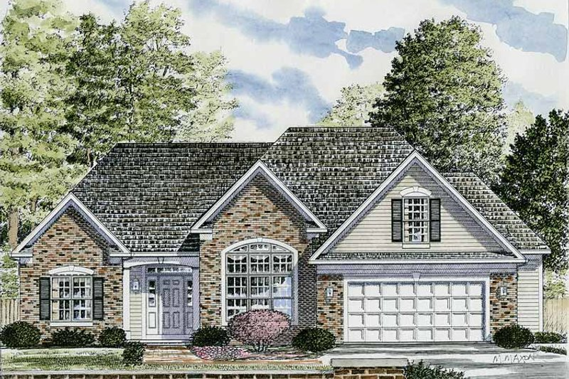 House Plan Design - Traditional Exterior - Front Elevation Plan #316-240