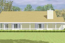 Country Exterior - Other Elevation Plan #72-1079