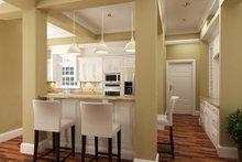 House Blueprint - Southern Interior - Kitchen Plan #45-600