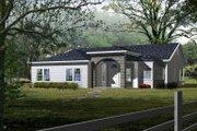 Adobe / Southwestern Style House Plan - 3 Beds 2 Baths 1959 Sq/Ft Plan #1-427
